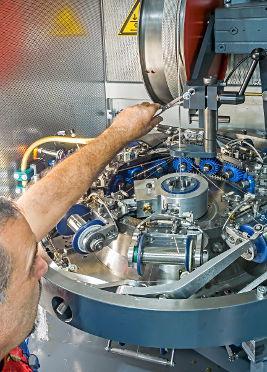 Engagierte Mitarbeiter und moderner Maschinenpark sorgen für Qualität.